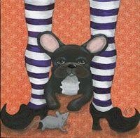 Halloweeny Frenchie