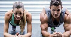 Δείτε παρακάτω πώς θα γυμνάσετε ολόκληρο το σώμα σας, μόνο με 5 λεπτά σανίδα!