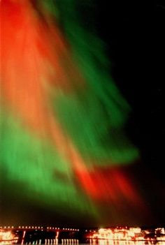 Northern Lights. I'll never tire of seeing the pics. Would love to see it with my own eyes one day.