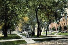 Dayton, Ohio -- remembering all the shady tree-lined streets, wonderful!