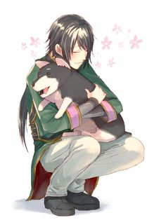 Ren and Zwei. Possibly one of the cutest pieces of RWBY fan art to exist. Team Jnpr, Team Rwby, Steven Universe, Lie Ren, Red Like Roses, Rwby Red, Red Vs Blue, Rooster Teeth, Animation Series