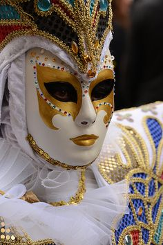 Carnaval Vénitien 2014 by Kevin Clausse, via Flickr