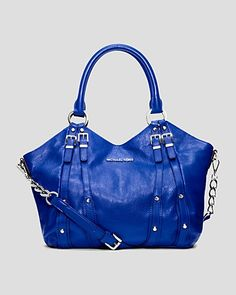 MICHAEL Michael Kors Tote - Leigh in Sapphire Absolutely love love love this handbag!!!!