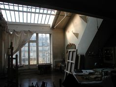 parisian artists loft  inspiration