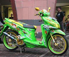 Cat Body, Color Effect, Mini Bike, Drag Racing, Airbrush, Cars And Motorcycles, Honda, Dan, Pictures