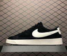 d902d10e5ad Shop Nike Blazer Low SD Black Sail Shoes AV9373-001