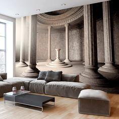 Papier peint intissé 50x35 cm ! Top vente - Papier peint - Tableaux - muraux - déco - XXL - Architecture d-B-0067-a-a: Amazon.fr: Cuisine & Maison