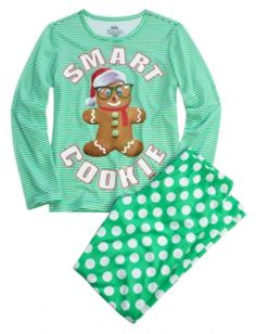 Smart Cookie 2 Piece Pajama Set | Girls Pajamas & Robes Pjs, Bras & Panties | Shop Justice