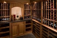 Beautiful #winecellar find out more at http://www.rosehillwinecellars.com/ #wine #winestorage