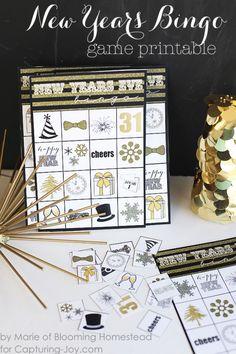 12 New Year's Eve Printables - Capturing Joy with Kristen Duke