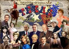 All Images were manipulated in Photoshop, cut out and made into a collage representing people, places and symbols from the state.    As you can see, I had no problem finding LOTS of famous texans....If anything, I had to pick and choose which to leave  Learn how to find financial wealth with trading FOREX. Become a fan of FOREX World on Facebook here:  http://www.facebook.com/pages/Forex-World/482553621756915?sk=app_208195102528120