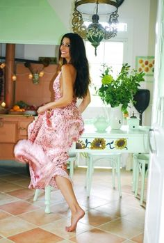 Me and my kitchen . Photo by Olympia Krasagaki . Country Style, Olympia, High Low, Thats Not My, Homes, Kitchen, Dresses, Fashion, Vestidos