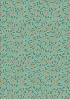 Chieveley - Garland Swirl On Sage Lewis & Irene Patchwork Quilting Fabric Quilting Thread, Patchwork Quilting, Quilting Fabric, Etsy Fabric, Fabric Garland, Scrapbooking, William Morris, Irene, Fabric Design