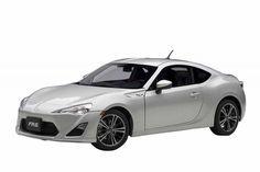 F/S AUTOart TOYOTA SCION FR-S NORTH AMERICAN SPECIFICATION SILVER 1/18 Model Car #AUTOart #TOYOTA