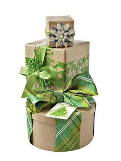 Tired of wrapping holiday gifts with ribbon? One alternative is decorative packaging tape.