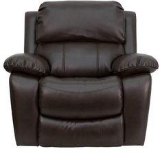 Flash Furniture MEN-DA3439-91-BRN-GG Dark Brown Leather Rocker Recliner · Mbox · Online Store Powered by Storenvy