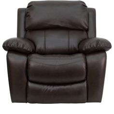 Flash Furniture MEN-DA3439-91-BRN-GG Dark Brown Leather Rocker Recliner · Mbox · Online Store Powered by Storenvy