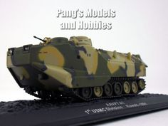 AAV-7 Assault Amphibious Vehicle - Marines 1/72 Scale Die-cast Model by Altaya