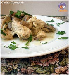 Bocconcini di pollo con funghi ricetta secondi di carne