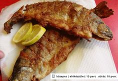 Hungarian Recipes, Hungarian Food, Cooking Recipes, Healthy Recipes, Healthy Foods, Fish Dishes, Fish And Seafood, Fish Recipes, Health