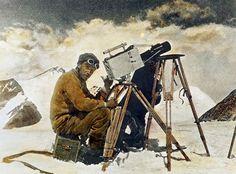 John Noel in 1924 at Mount Everest