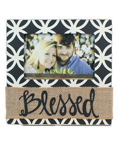Another great find on #zulily! 'Blessed' Frame #zulilyfinds