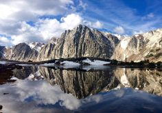 A perfect reflection in Medicine Bow National Forest Wyoming [OC][24971754] #reddit