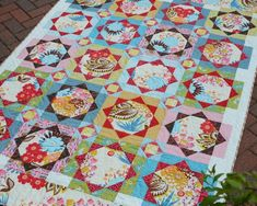 "You may remember my ""Strawberry Fields"" quilt - the pattern found in Sarah Fielke and Kathy Doughty's book Material Obsession . It's fin..."