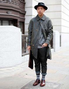 John Jarrett, Mens style, London Collections: Men SS14 Street Style | ELLE UK