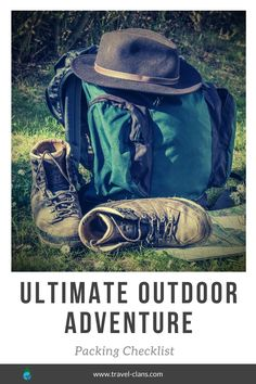 Here is the ultimate outdoor adventure vacation packing checklist. Hopefully, it will help you get over the anxiousness of forgetting something. Vacation Packing Checklist, Travel Packing, Travel Bags, Packing Hacks, Packing Lists, Budget Travel, Pop Culture Halloween Costume, Creative Halloween Costumes, Hiking Backpack