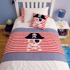 Pirate Duvet Cover Set