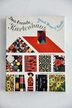 """Das Bunte Kartenhaus"" a 1960 German edition of the Eames Giant House of Cards!"
