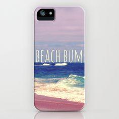 Beach Bum iPhone & iPod Case by Josrick - $35.00
