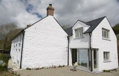 cottage renovation and extesnion cork linehan construction Rural House, Farmhouse Renovation, House Extensions, New Builds, Cosy, Backyard, Construction, House Design, Cabin