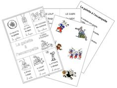 La galette à l'escampette GS Grande Section, School, Cards, Montessori, Party, Nursery School, Traditional Tales, Maps, Playing Cards