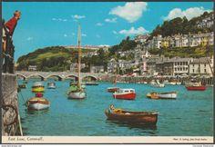 East Looe, Cornwall, c.1970s - John Hinde Postcard