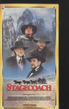 STAGECOACH Willie Nelson Waylon Jennings Kris Kristofferson Johnny Cash vhs