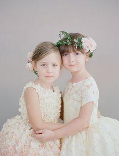 loving these sweet Doloris Petunia flower girl dresses