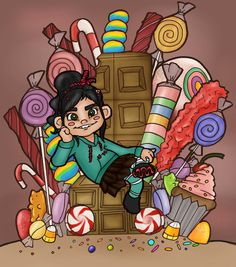 What if Vanellope had an iron throne. It's not an Iron Throne. Game Of Thrones, Woke Up This Morning, Iron Throne, People Sitting, Bowser, Chibi, Deviantart, Drawings, Disney