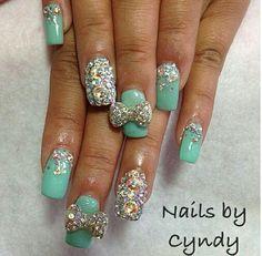 Bling nails!