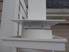 Construction - post bracket Curved Pergola, Rainbow Light, Led Strip, Strip Lighting, Shelves, Lights, Construction, Home Decor, Building