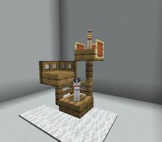 I made this for my cats : Minecraft I made this for my c. - Explore the best and the special ideas about Lego Minecraft Minecraft Cottage, Easy Minecraft Houses, Minecraft Room, Minecraft Decorations, Amazing Minecraft, Minecraft Blueprints, Minecraft Crafts, Minecraft Designs, Minecraft Furniture
