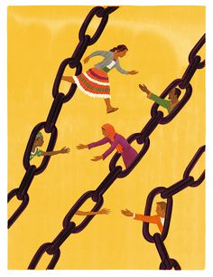 Human Traffiking, Barbed Wire Art, Feminist Art, Illustrations Posters, Illustrators, Illustration Art, Wallpaper, Peru, Graphic Design