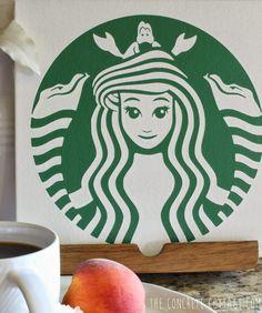 Starbucks Little Mermaid Logo