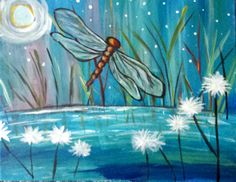 Dragon Fly Painting