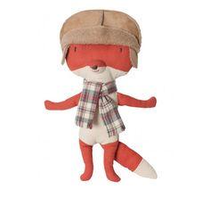 FOX WITH HAT - Toys & Books - Kids by DwellStudio