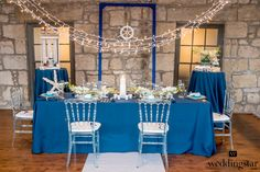 Something Blue Wedding Inspiration from @Weddingstar Inc. is featured on @Black Bride