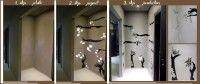 """Decorazione di interni presso il Ristorante """"Soul"""" di Pomigliano D'Arco_ Napoli  Maggiori informazioni http://galleria-d-arte-angoli-di-colore.webnode.it/products/bellezza-effimera/"""