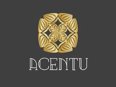 """ACENTU.com  acen/tu, accent/to, accent/tu, (tu) = the familiar form of """"you"""" in French, accent/you. A delicate abstract floral/rosebud design appropriate for a number of business types: fashion, retailing, luxury goods,or services, high end merchandising. Accent, accentuate, accentuate you.... View more brands at http://www.boxedbrands.com"""
