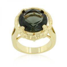 Smokey Cubic Zirconia Organic Ring  #sale #women #kid #bigboytoys #church #Boots #bags #suits #summer #watches